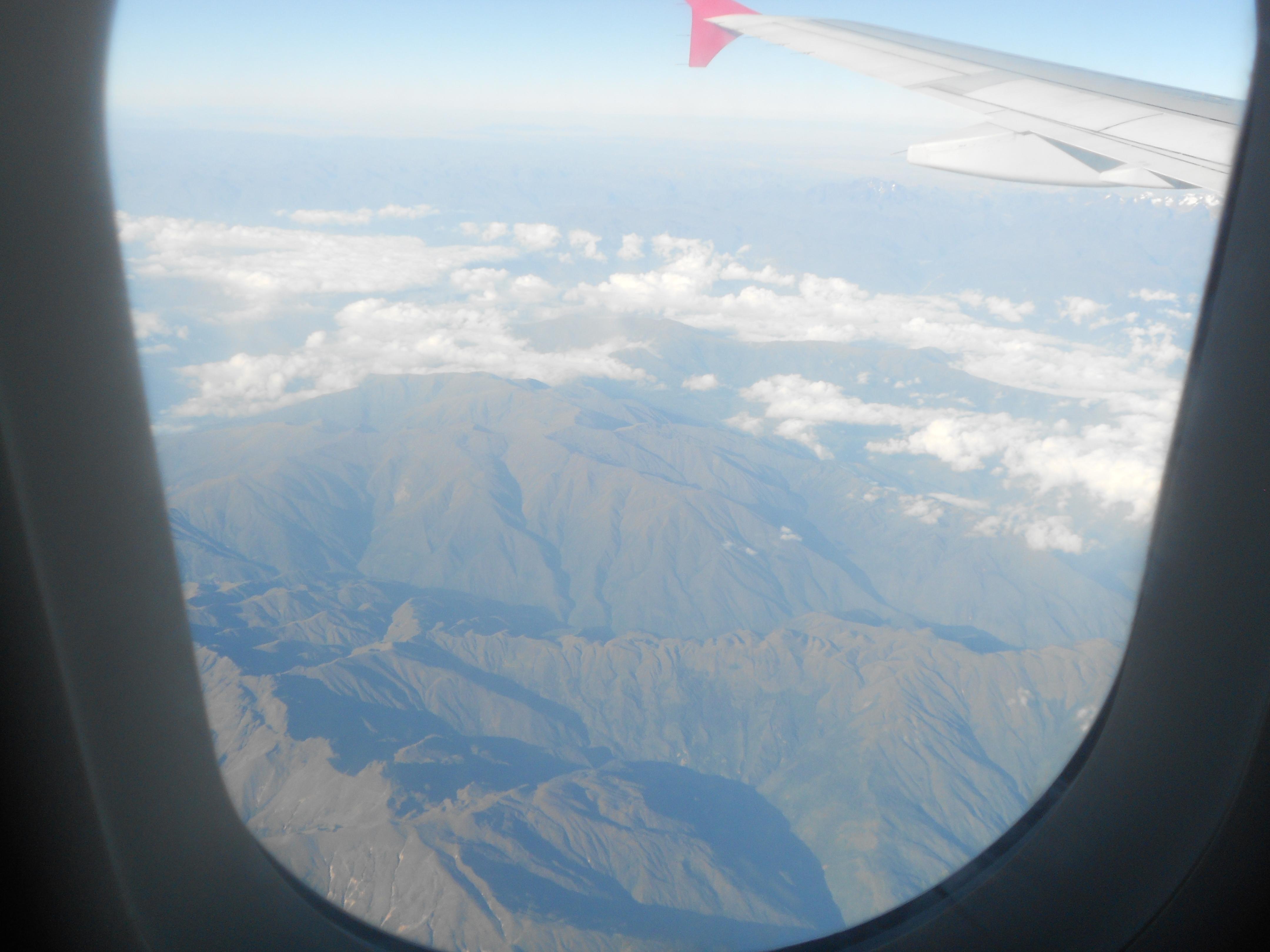 Como é sobrevoar os Andes
