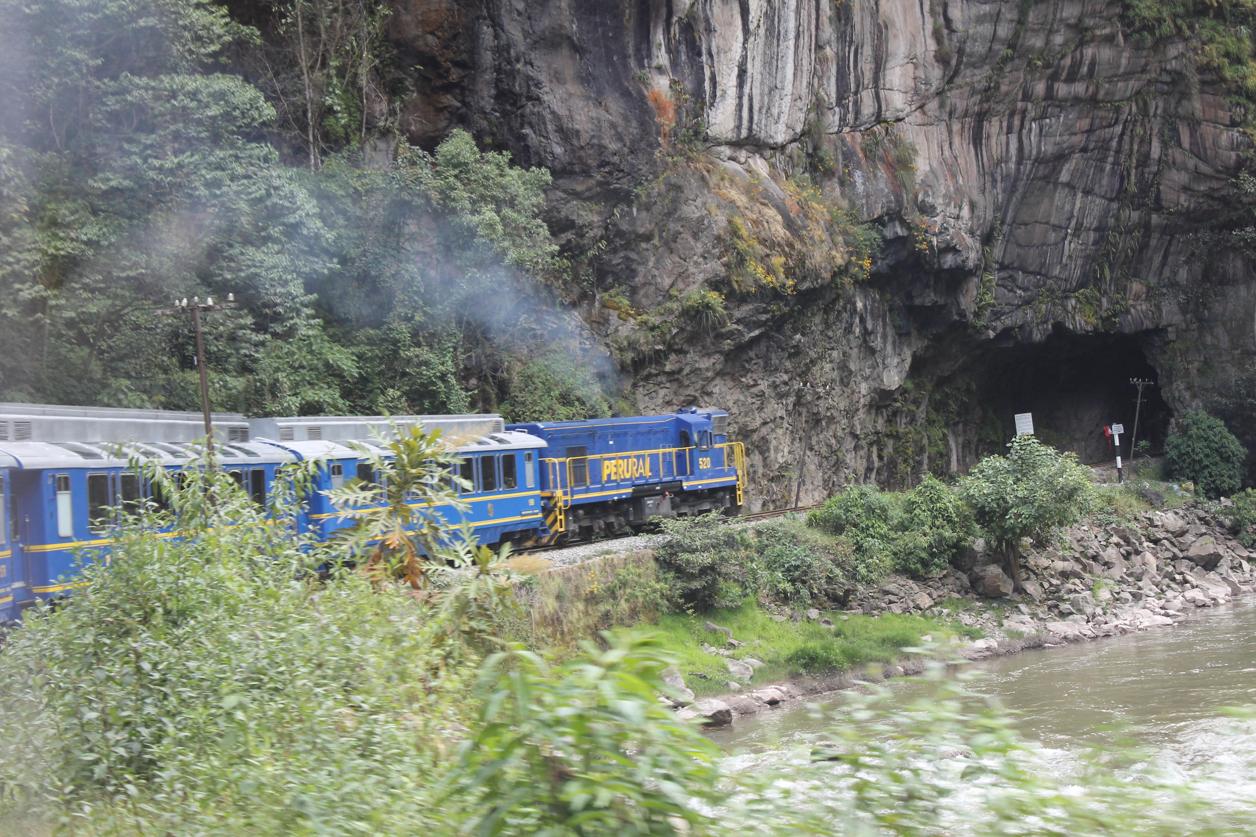 Peru Machu Pichu de trem
