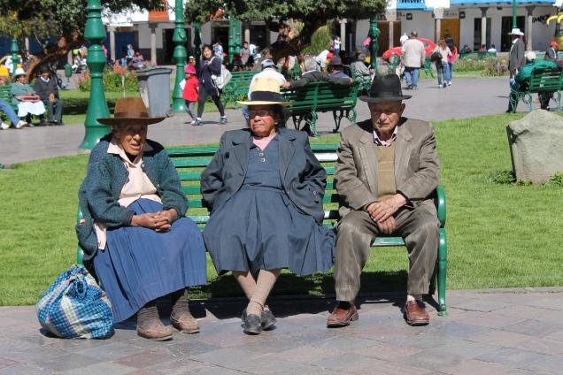 Cusco Peru praça