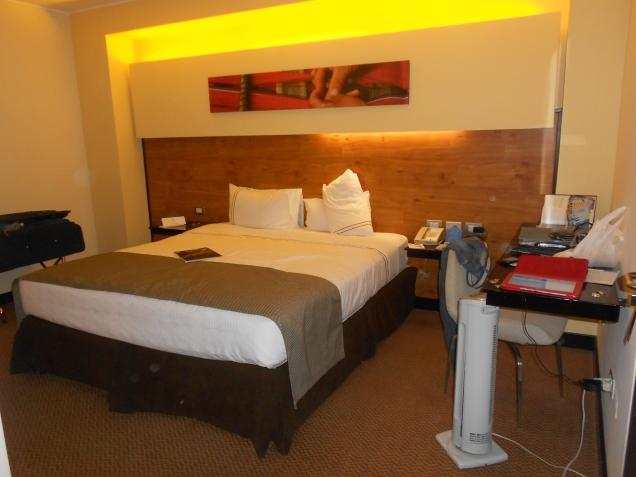 quarto do Sonesta em Cusco
