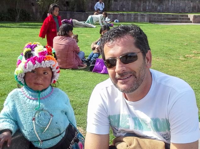 Cusco criança