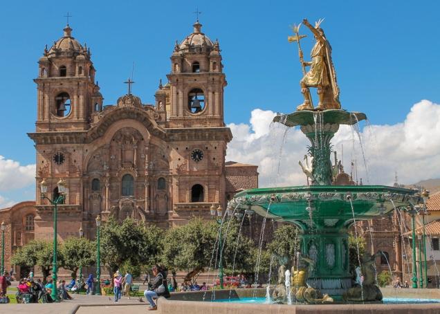 Cusco Praça Central