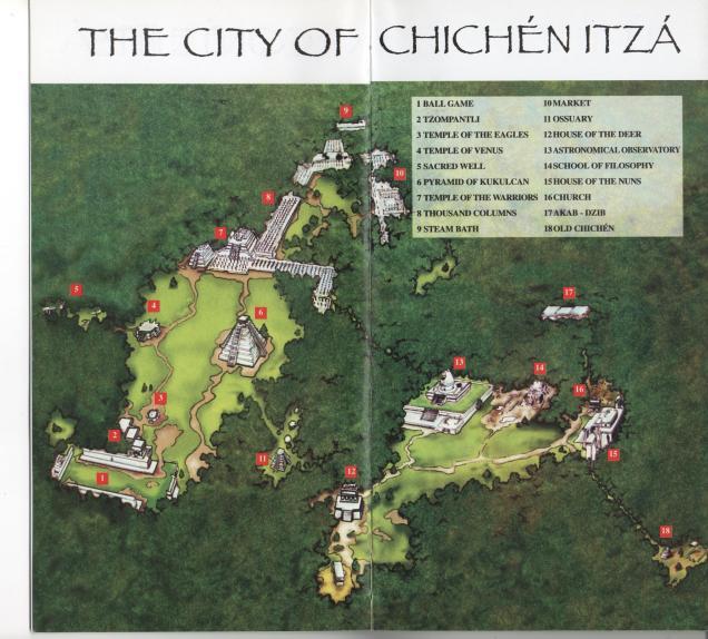 A Antiga Cidade Maia tem 15 km2