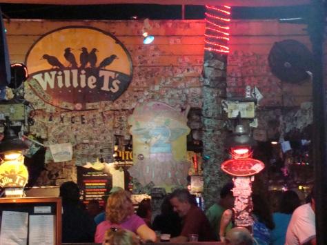 O pitoresco Willie T's