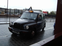 coisas de londres taxi