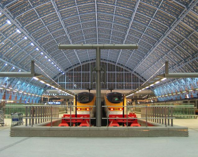 Estação St Pancras, em Londres