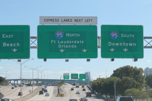 As bem sinalizadas rodovias