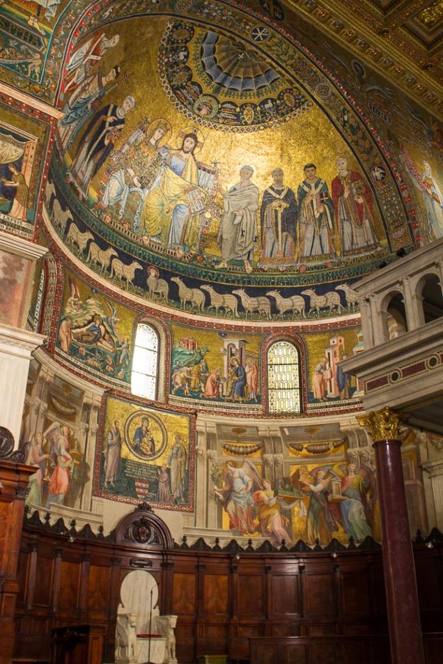 Roma igreja Trastevere