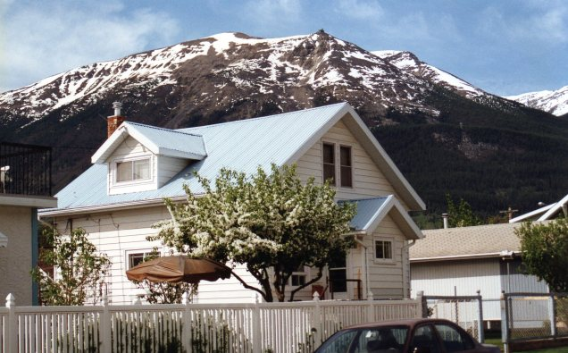 Uma das graciosas casas de Jasper