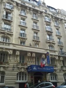Fachada de nossa rápida morada em Paris