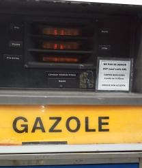 combustível na França preço e como é abastecer