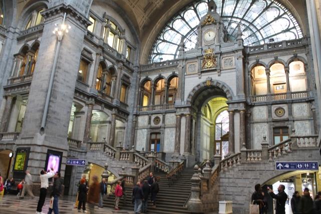 A majestosa estação de Antuérpia
