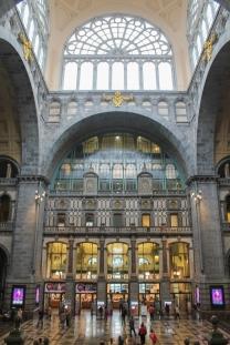 A linda estação Antuérpia