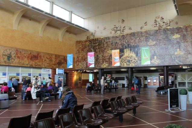 Saguão da Estação de Brugges, Bélgica