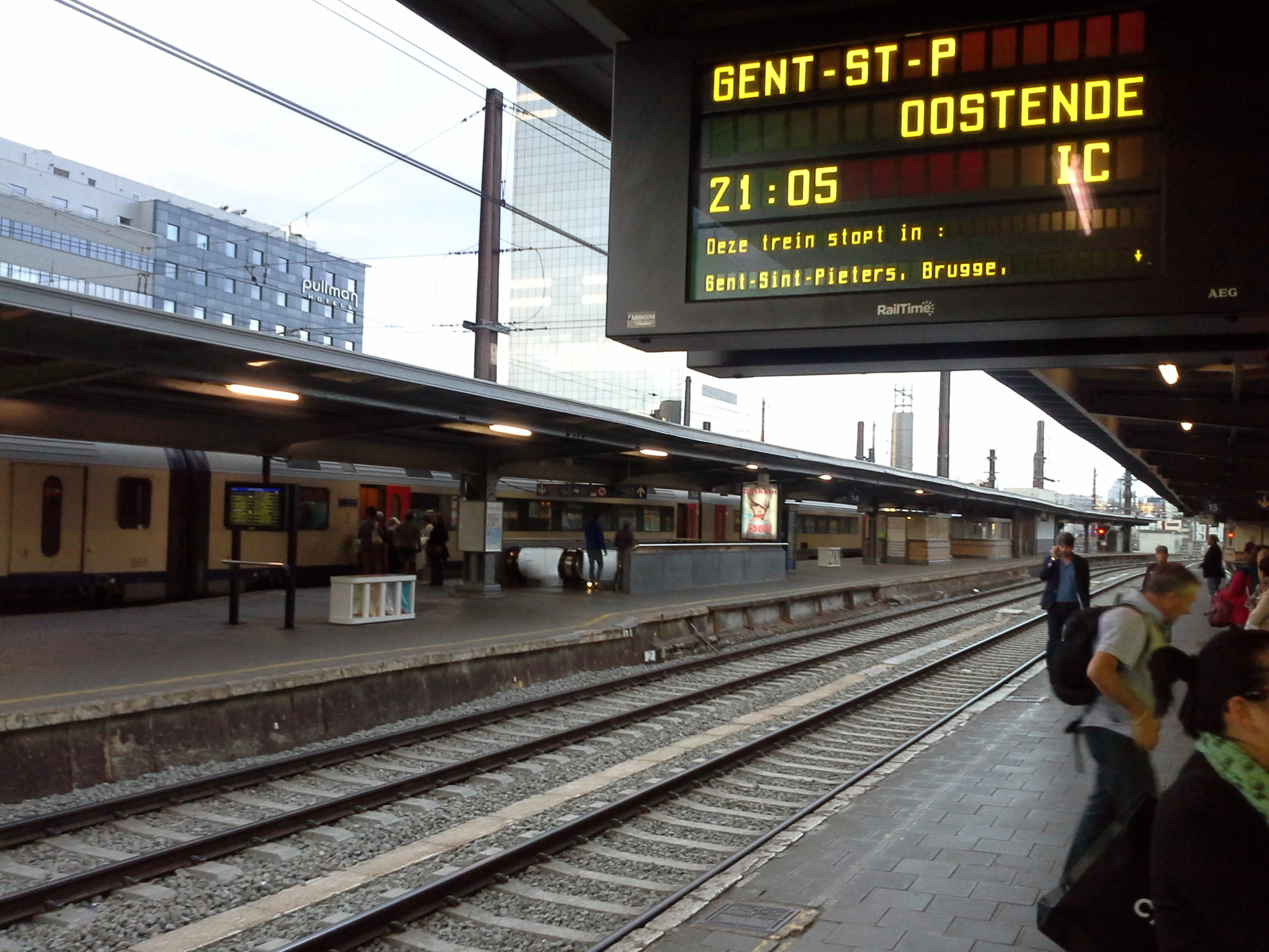 estaçao trem belgica