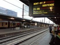 A estação de Bruxelas: sem glamour ou modernização