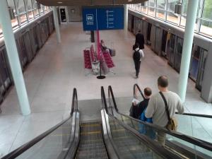 CDG plataforma p trem para terminais