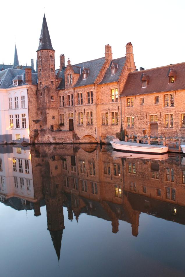 destinos para lua de mel Bruges