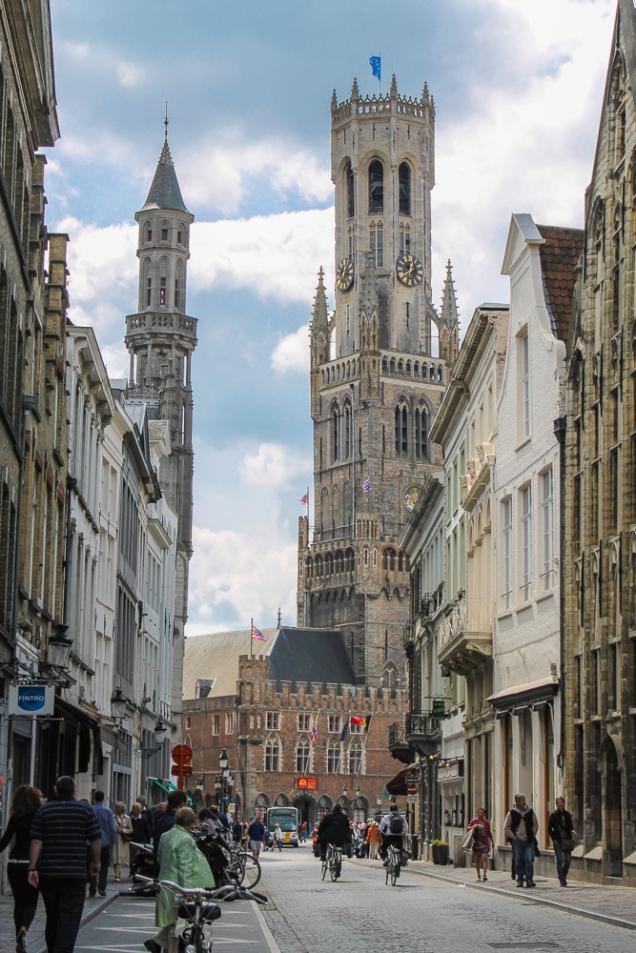 Campanário Torre Bruges