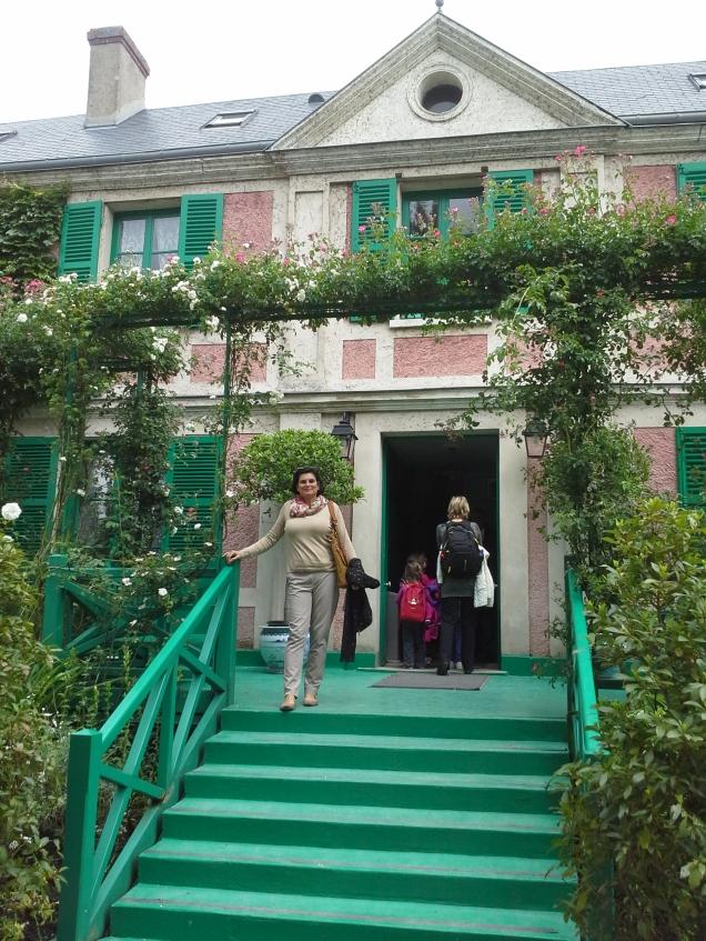 Jardim e casa de Claude Monet