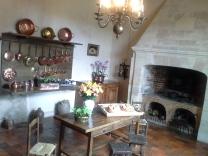 A cozinha do Castelo Villandry
