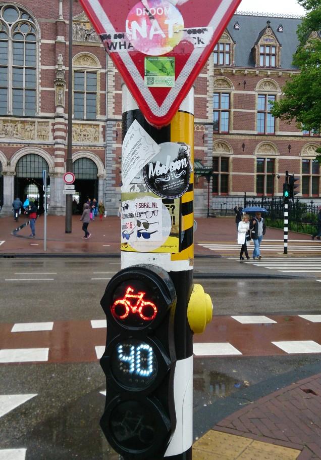 andar de bicicleta em amsterdam