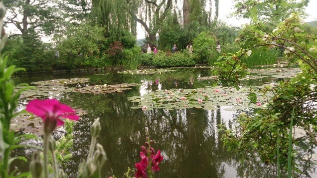 como são os jardins de Monet