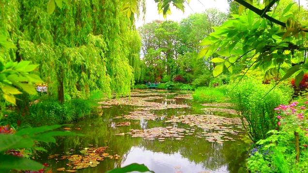 como é visitar o jardim de Monet