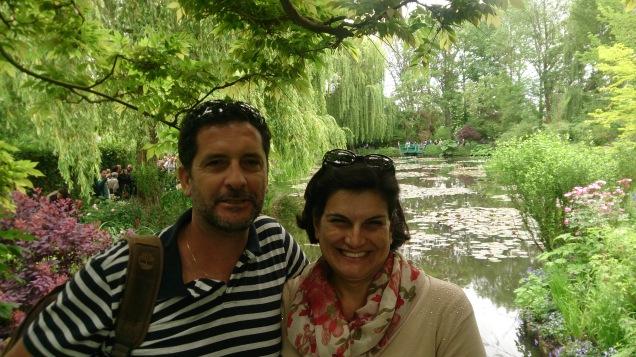 visita aos jardins de Monet