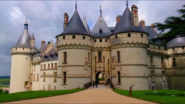 Vvale do Loire de carro