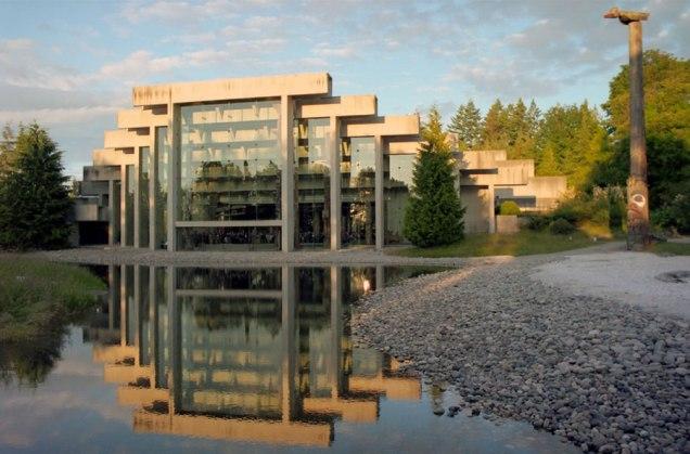 O lindo Museu de Antropologia de Vancouver