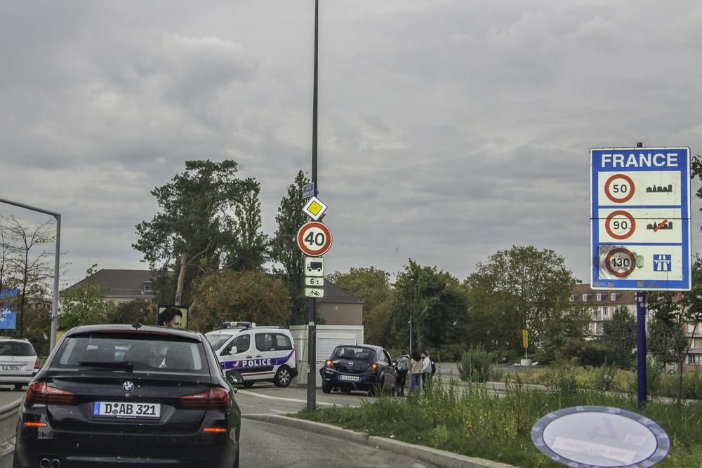 fronteira França Alemanha