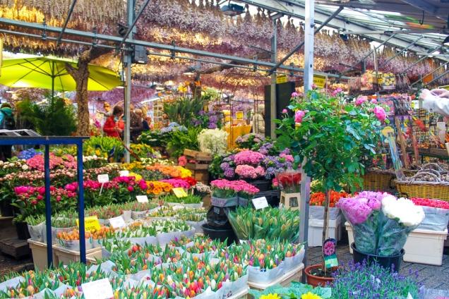 mercado de flores amsterda