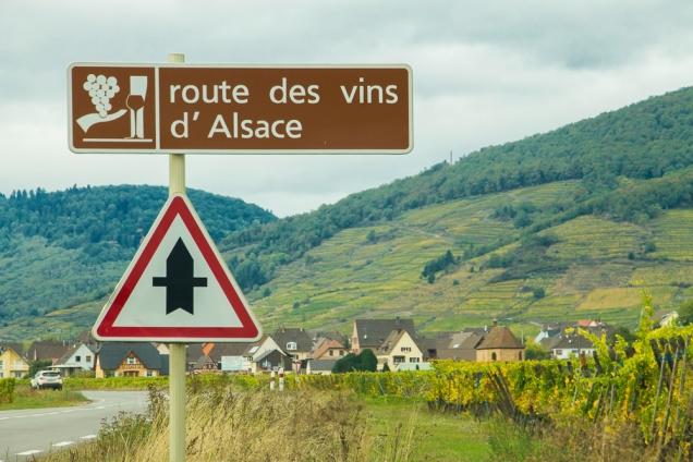 Alsácia, França roteiro