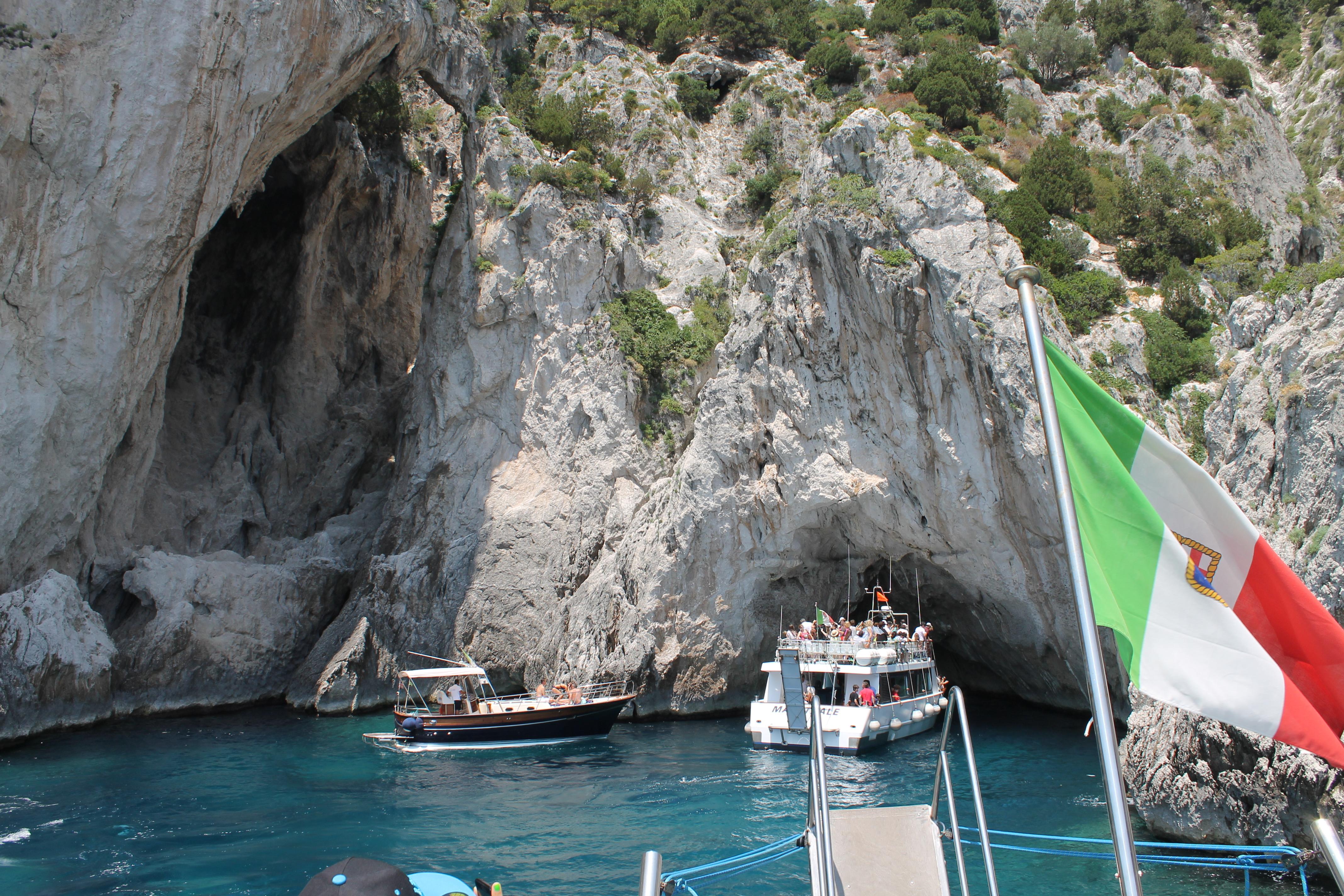 grota azul Capri