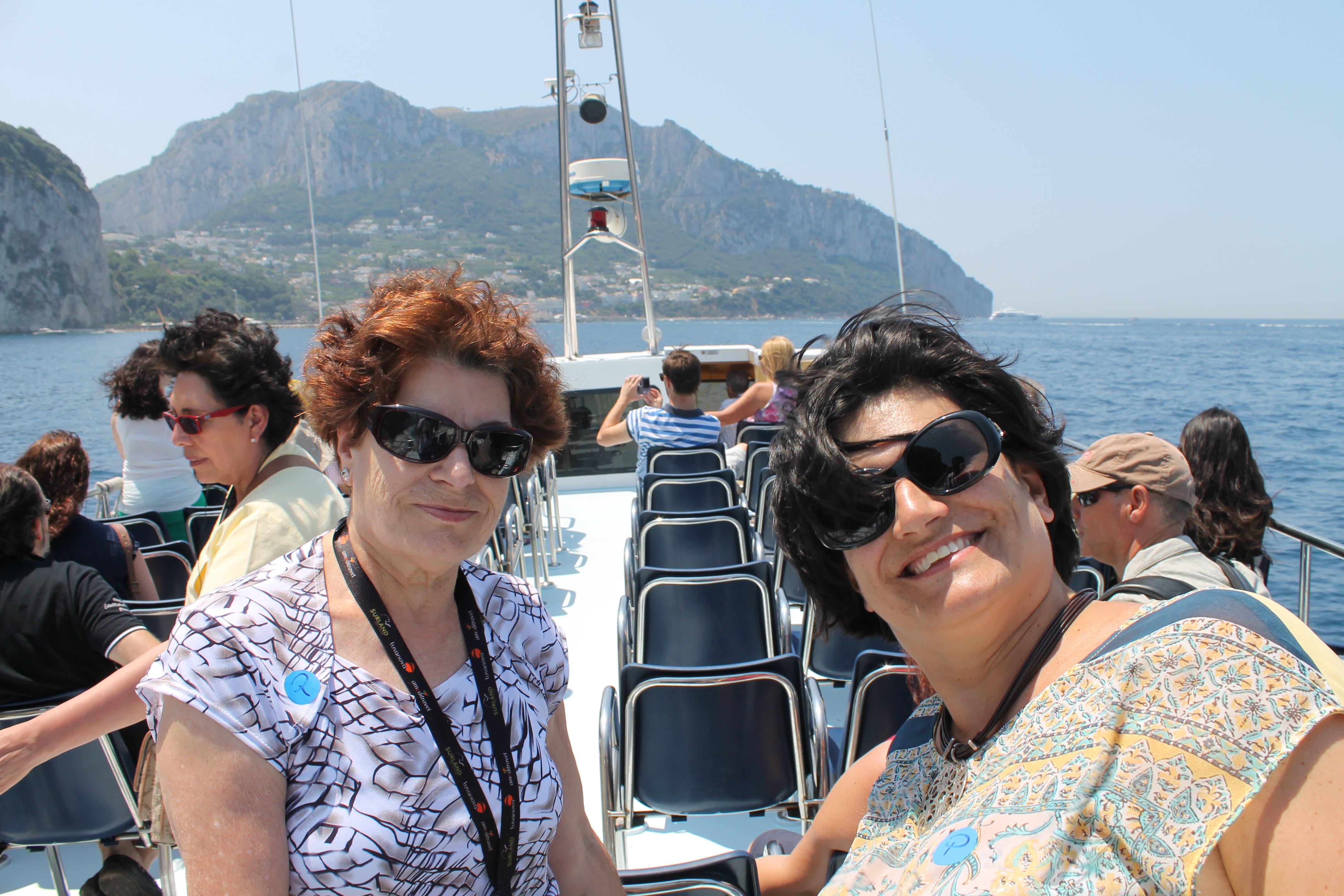 Capri passeio de barco