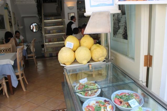 Capri onde comer