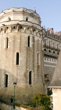 A vista de nosso quarto: só a torre do castelo!