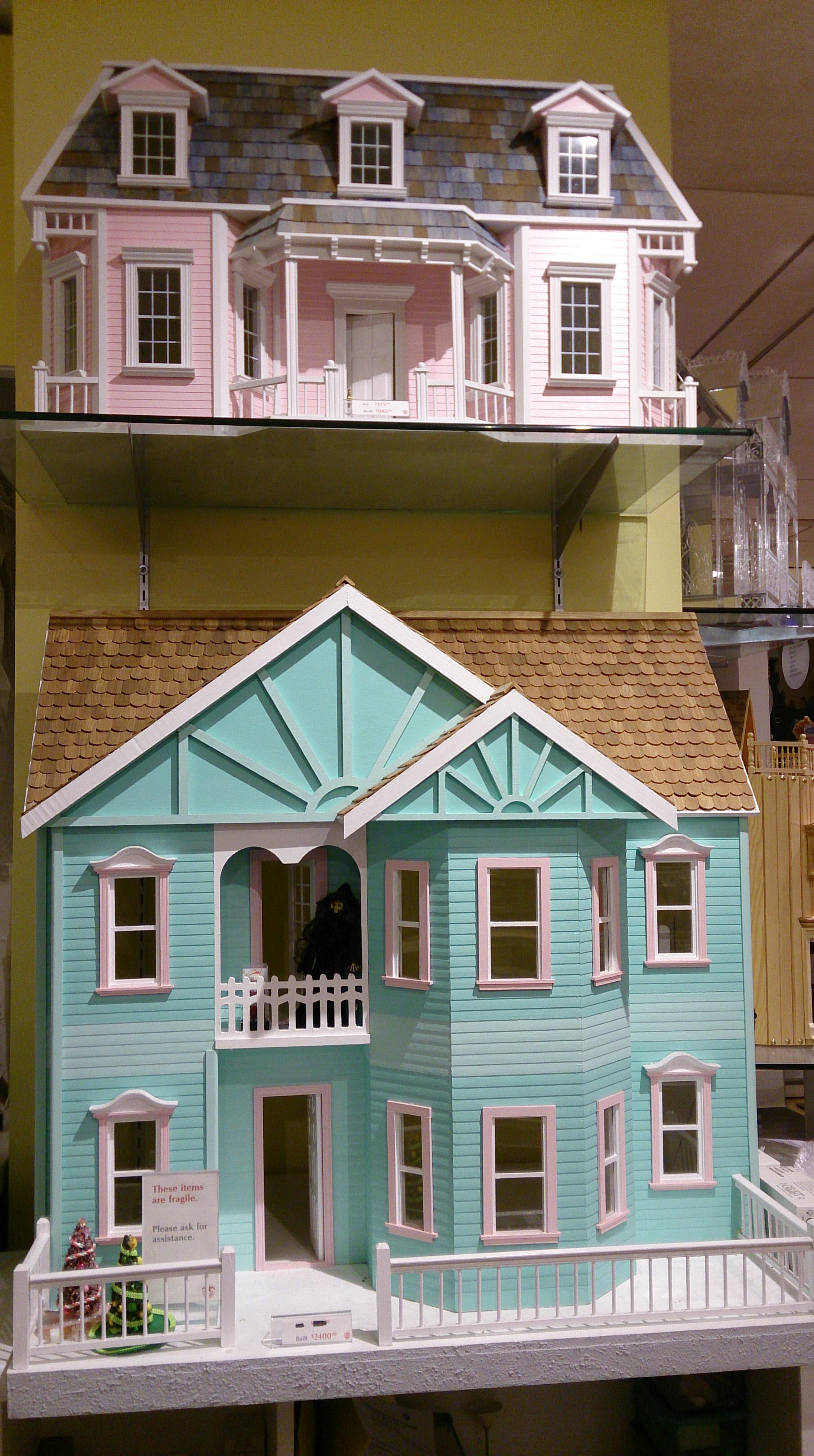 loja brinquedos Nova Iorque casas boneca