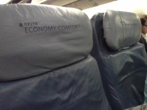 "O assento ""diferenciado"" na econômica da Delta"