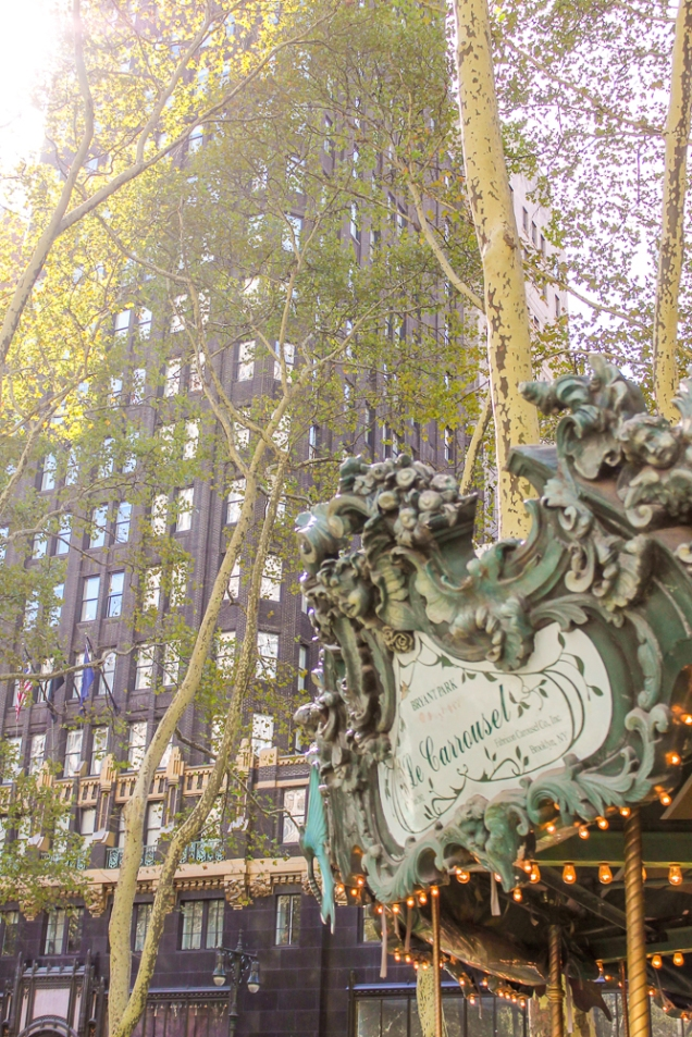 O Carrossel do Bryant Park