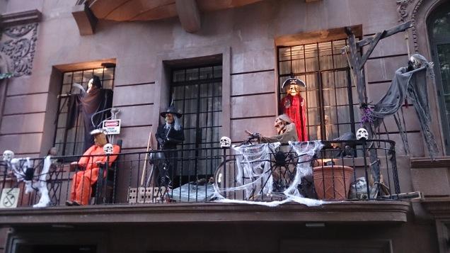 Decoração caprichada de Halloween