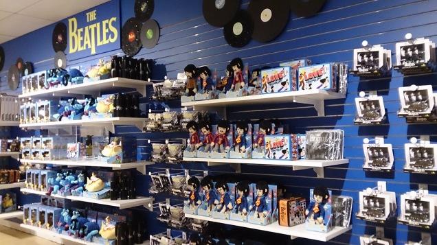 loja brinquedos Nova Iorque Beatles