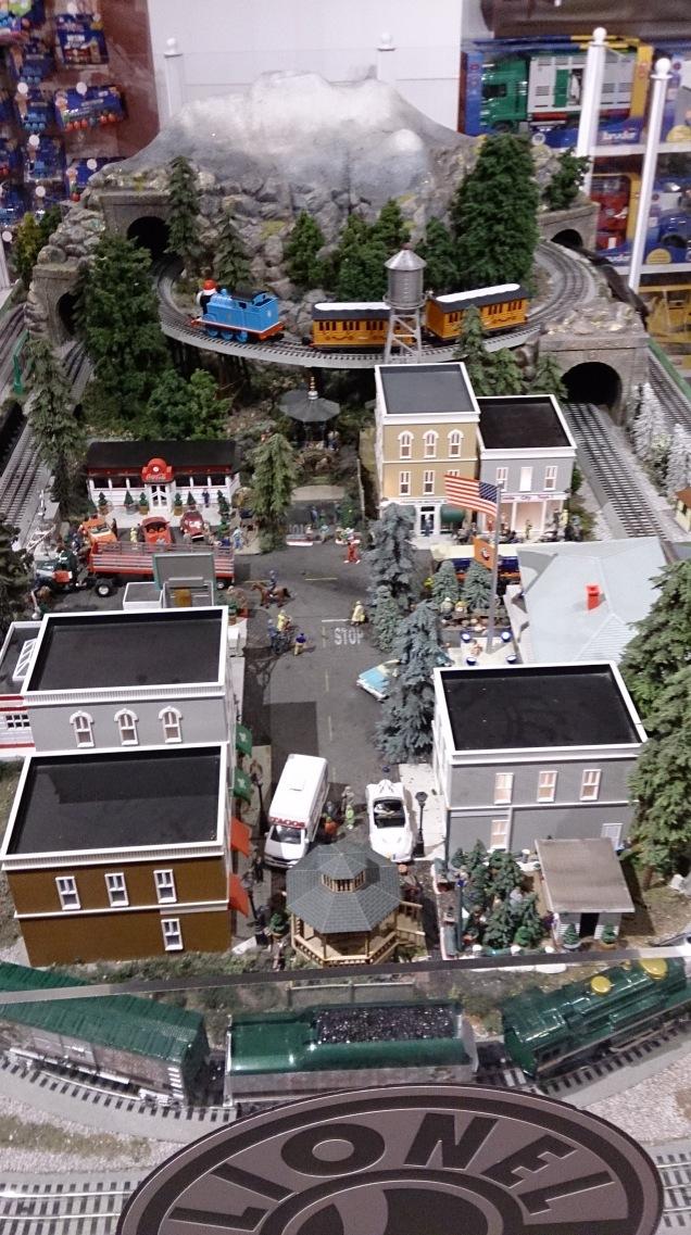 loja brinquedos Nova Iorque trenzinhos