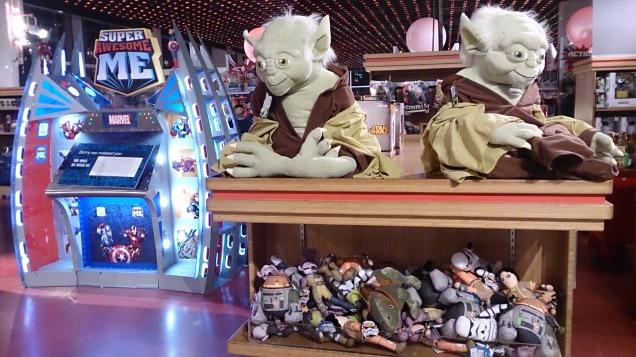 loja brinquedos Nova Iorque star wars