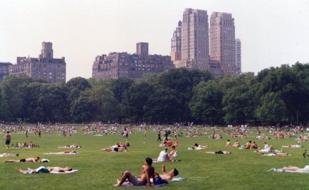 Nova Iorque no verão
