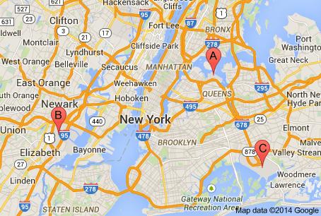 aeroportos em Nova Iorque