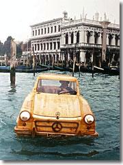 Será m barco? Será um carro? É um carco!