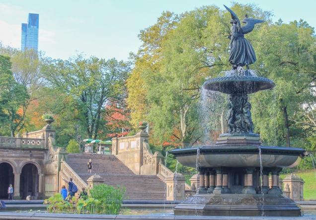 central park fountain nova iorque