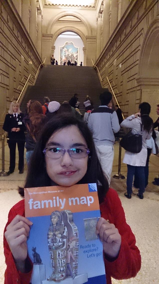 Metropolitan Museu com crianças